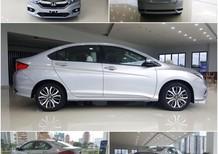 Bán Honda City 1.5 TOP 2018, màu trắng, 599tr, trả góp chỉ với 180tr nhận xe