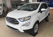 Hãng xe Ford tại Lào Cai bán Ford EcoSport 1.0 Ecoboost đời 2018, màu trắng, giao ngay LH: 0941.921.742