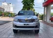 Cần bán Toyota Fortuner 2.7V đời 2013, màu bạc