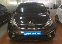 Bán xe Kia Rio 1.4 AT năm sản xuất 2015, màu nâu giá cạnh tranh