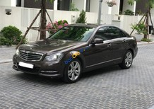 Bán ô tô Mercedes C250 sản xuất năm 2014, màu nâu, 950 triệu