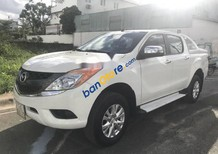 Bán Mazda BT 50 sản xuất 2014, màu trắng ít sử dụng, 495 triệu