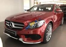 Cần bán lại xe Mercedes C300 sản xuất 2018, màu đỏ chính chủ