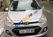 Bán Hyundai Grand i10 sản xuất 2014, màu bạc, nhập khẩu nguyên chiếc