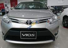 Bán ô tô Toyota Vios E năm 2018, màu bạc