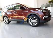 Cần bán xe Hyundai Santa Fe đời 2018, màu đỏ