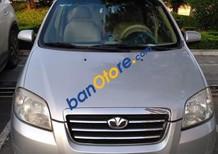 Cần bán lại xe Daewoo Gentra 1.5 MT đời 2008, màu bạc, 157tr