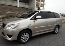Cần bán gấp Toyota Innova 2.0E sản xuất 2013 chính chủ, giá 498tr