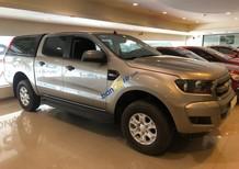Cần bán xe Ford Ranger 2.2L XLS AT sản xuất năm 2017, màu xám, xe nhập, 665tr