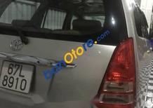 Cần bán lại xe Toyota Innova 2008, màu bạc, giá tốt