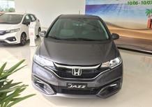 Honda Jazz V 2018, 120tr có xe ngay, màu xám & trắng, nhập thái, khuyến mãi cực lớn