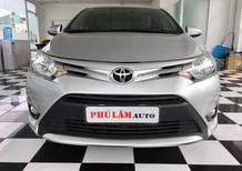 Cần bán lại xe Toyota Vios 1.5E 2017, màu bạc