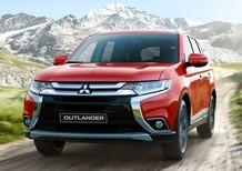 Mitsubishi Outlander màu đỏ mới 100%, giảm giá sốc, giao xe ngay