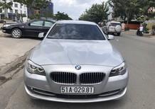 BMW 5 Series 523i 2011, màu bạc, nhập khẩu