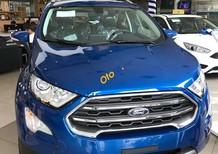 Cần bán xe Ford EcoSport Titanium 1.0L Ecoboost 2018, màu xanh
