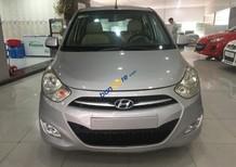 Bán Hyundai i10 1.1MT năm sản xuất 2013, màu bạc, nhập khẩu nguyên chiếc