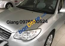 Cần bán xe Hyundai Elantra đời 2009, màu bạc xe gia đình giá cạnh tranh