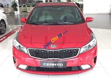 Kia Vĩnh Phúc bán Kia Cerato 2018, màu đỏ, hỗ trợ trả góp 90% giá trị xe, ls thấp, LH: 0985 298 156