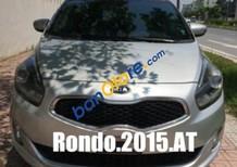 Cần bán xe Kia Rondo 1.7l AT đời 2015, màu bạc