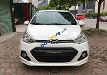 Cần bán Hyundai Grand i10 1.2 MT sản xuất năm 2017, màu trắng, 375tr