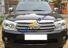 Cần bán lại xe Toyota Fortuner 2.7 AT đời 2009, màu đen