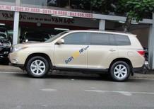 Bán Toyota Highlander LE 2011 màu vàng