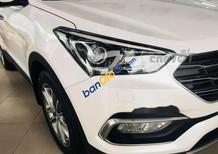 Bán Hyundai Santa Fe đời 2018, màu trắng, giá tốt