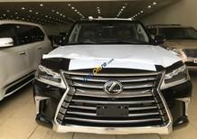 Bán Lexus LX570 nhập Mỹ màu đen, sản xuất 2018, bản full kịch đồ, xe và giấy tờ giao ngay