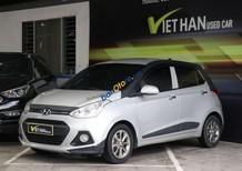 Bán ô tô Hyundai Grand i10 1.2AT sản xuất 2014, màu bạc, nhập khẩu