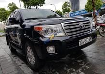 Cần bán xe Toyota Land Cruiser năm 2014 màu đen, tên công ty xuất hoá đơn