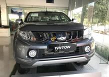 Bán ô tô Mitsubishi Triton sản xuất 2018 màu xám (ghi), 755 triệu, xe nhập