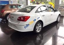Bán ô tô Chevrolet Cruze năm sản xuất 2018, màu trắng, giá chỉ 589 triệu