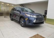 Cần bán xe Toyota Highlander LE năm 2017, màu xanh lam, xe nhập