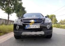 Bán xe Chevrolet Captiva 2.4 MT đời 2008, màu đen chính chủ