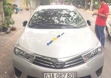 Cần bán gấp Toyota Corolla altis 1.8 G năm 2017, màu bạc, nhập khẩu nguyên chiếc