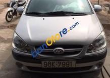 Bán ô tô Hyundai Getz sản xuất 2008, màu bạc, nhập khẩu nguyên chiếc, giá tốt