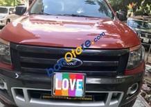 Bán Ford Ranger 3.2 AT đời 2015, màu đỏ