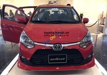 Cần bán Toyota Wigo 1.2AT sản xuất 2018, màu đỏ, nhập khẩu nguyên chiếc, xe giao sớm