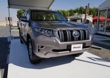 Toyota Prado 2.7VX 2018, nhập khẩu chính hãng, giao xe sớm, hỗ trợ vay tới 90%