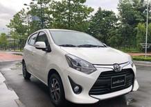 Bán Toyota Wigo 1.2 đời 2018, màu trắng, đỏ, cam, bạc, đen, nhập khẩu nguyên chiếc, giao xe tháng 9
