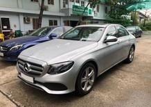 Bán xe Mercedes E250 bạc 2018 chính hãng. Trả trước 750 triệu nhận xe ngay