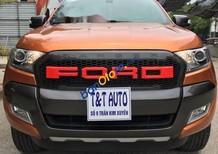 Bán xe Ford Ranger Wildtrak 2.2 sx 2017, màu cam, còn rất đẹp