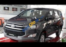 Bán ô tô Toyota Innova 2.0E sản xuất 2018, màu xám (ghi), xe giao ngay, giá tốt, hỗ trợ trả góp 80%