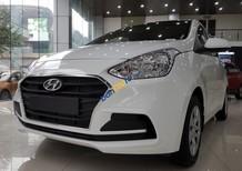 Bán Hyundai Grand i10 1.2MT đuôi dài, hỗ trợ đăng kí grab, vay ngân hàng 90%, giá cực tốt, nhiều quà tặng