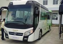 Giá xe khách 29 chỗ bầu hơi, xe du lịch 29 chỗ Thaco TB79S đời 2018