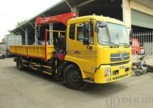 Bán xe tải Dongfeng 9t gắn cẩu PalFinger chỉ với 125 triệu đồng hỗ trợ 90%