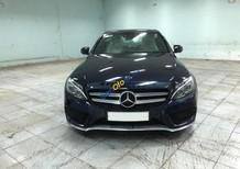 Bán xe Mercedes C300 đen AMG 2018 chính hãng, trả trước 600 triệu nhận xe