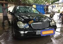 Cần bán gấp Mercedes C200 sản xuất 2004, màu đen, giá chỉ 178 triệu