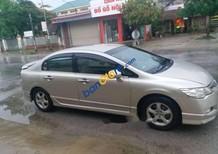Cần bán lại xe Honda Civic sản xuất 2008, màu vàng, giá 300tr