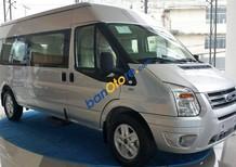 Bán xe Ford Transit SVP đời 2018, màu bạc giá tốt